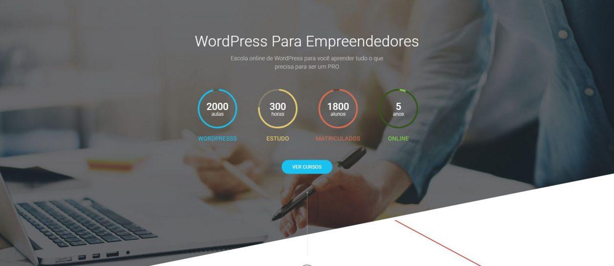 Novo Site Cursos7 – Construindo Um Site de Cursos Online Em WordPress