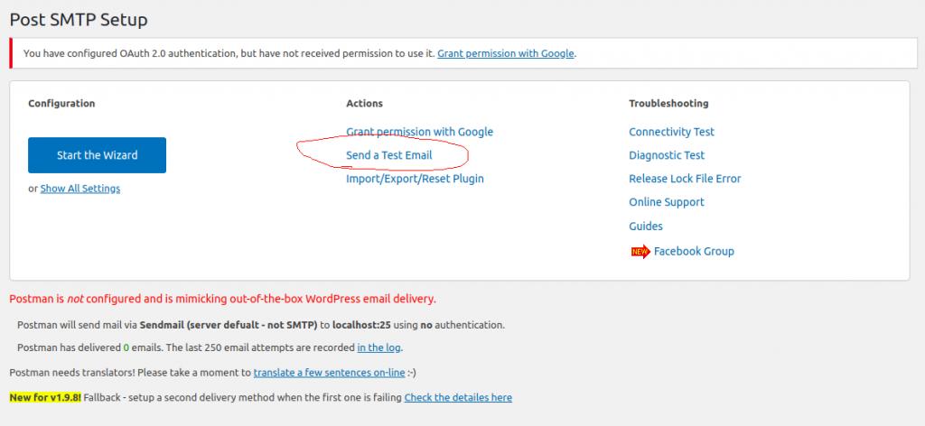 Configurando Envio de Email no WordPress Utilizando Post SMTP e Gmail